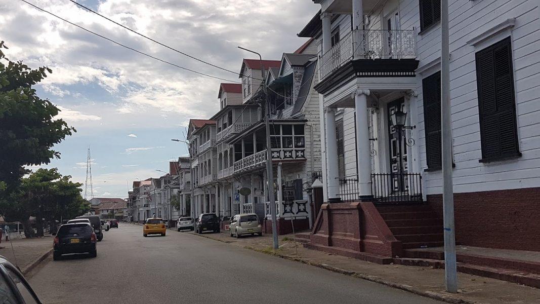 de Waterkant Paramaribo Suriname